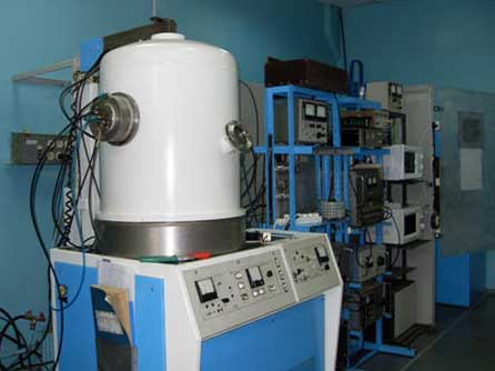 installation of ion-beam and magnetron sputtering