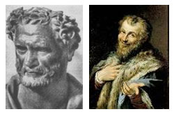 Greek philosopher Democritus