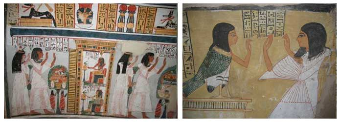 painting of ancient Egypt